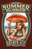 Summer Blonde Golden Ale Art Print