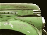 Chevy Streamline - Apple Green Art Print