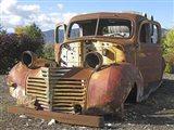 Old Wine Truck Art Print
