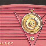 Galaxy Radio - Coral Art Print