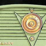 Galaxy Radio - Green Art Print