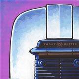 Galaxy Toaster - Purple Art Print