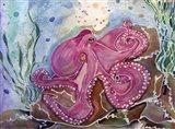OctopiLullaby Art Print