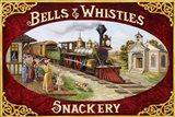 Bells & Whistles Train Art Print