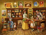 Country Store Art Print