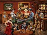 The Gambler's Art Print