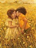 First Kiss Art Print