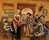 Wild Wild West Saloon Art Print