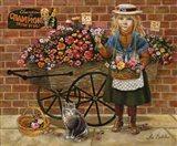 Liza Flower Girl Art Print