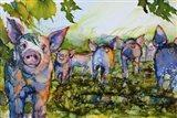 Pig Tales Art Print