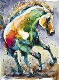 Horse of Another Color Art Print