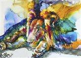 Lion Around Art Print