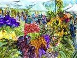 At the Market Art Print