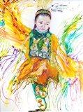The Shawl Dancer Art Print