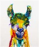 Llama-rama Art Print