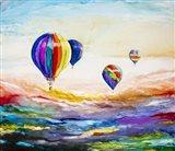 Up Up and Away Art Print