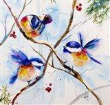 All A-Flutter Art Print