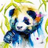 Bamboo Anda Panda Art Print