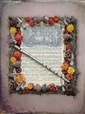 Christmas Sheet Music with Flute Art Print