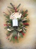 Gamblers Christmas Art Print