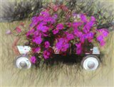 Petunias To Go Art Print