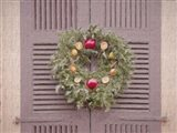The Christmas Wreath Colonial Williamsburg Art Print