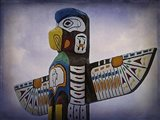 Top Of The Totem Art Print