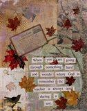 Autumn Test Art Print