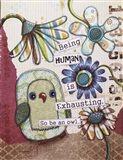 Being Human Art Print