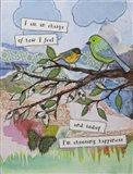 Bird of happiness Art Print