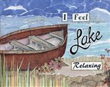 Boat Relaxing Art Print
