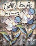 Earth Laughs Art Print