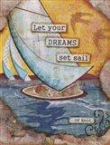 For Sail Art Print