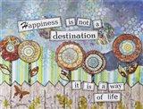 Happy Destinations Art Print