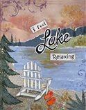 Lake Relaxing Art Print
