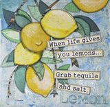Lemony Life Art Print