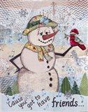 Lettie Snow Art Print