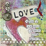 Loving Hearts Art Print