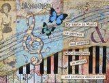 Musical Perfection Art Print