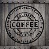 Coffee Signs V2 Art Print