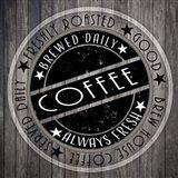 Coffee Signs V3 Art Print