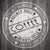 Coffee Signs V4 Art Print