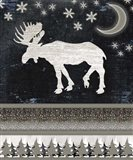 Good Night Moose V1 2 Art Print