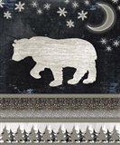 Good Night Bear V1 2 Art Print