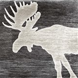Good Night Moose Art Print
