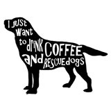 Rescue Dog 5 Art Print