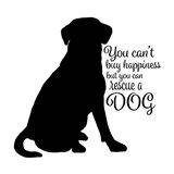 Rescue Dog 9 Art Print