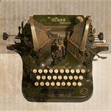 Typewriter 01 Oliver Art Print