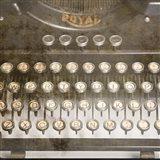 Typewriter 02 Royal keys 2 Art Print