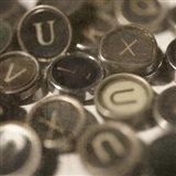 Typewriter 02 Royal keys 3 Art Print
